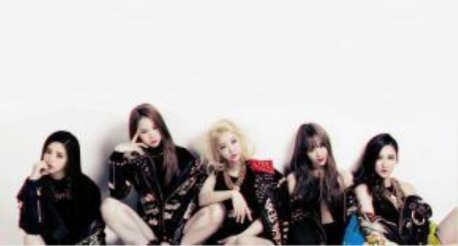 Các thành viên trong nhóm nhạc nữ EXID