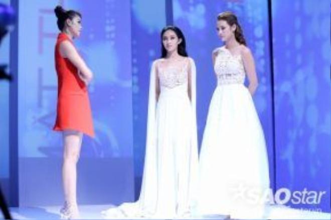 Hồ Ngọc Hà đưa ra quyết định chọn Lilly Nguyễn. Còn ở team Lan Khuê, nữ siêu mẫu chuyên nghiệp chọn Thu Hiền bước vào phòng loại.