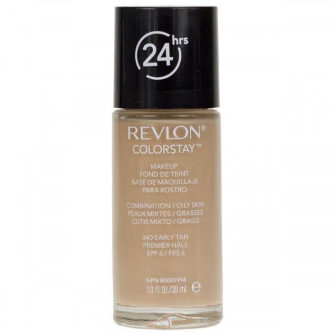 Revlon Colorstay Foundation có khá nhiều tone màu giúp bạn dễ dàng đưa ra sựlựa chọn phù hợp.