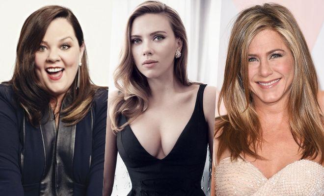 Ở vị trí số 2 là Melissa McCarthy - 33 triệu USD, số 3 là Scarlett Johansson - 25 triệu USD và số 4 là Jennifer Aniston - 21 triệu USD.
