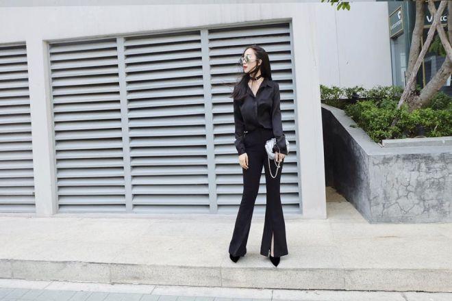Các stylist Việt biến hóa trang phục thế nào chỉ với một signature item ảnh 12