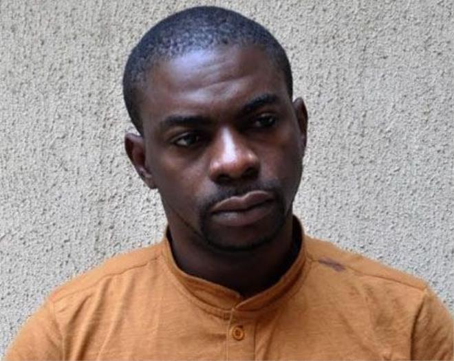 Nghi phạm Iwuchukwu Martin Uche . Ảnh: punchng