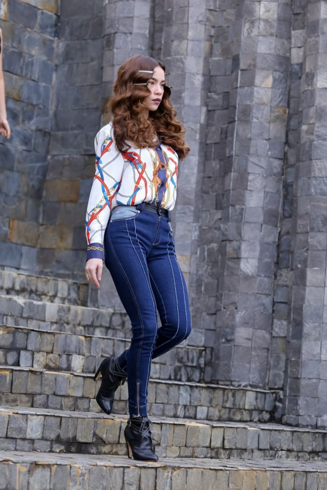 Một thương hiệu được Hà Hồ vô cùng yêu thích từ Louis Vuitton.
