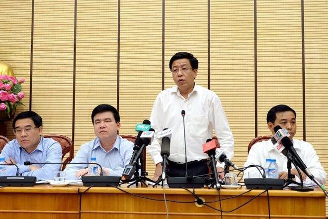 Ông Dương Đức Tuấn, chủ tịch UBND quận Hoàn Kiếm - Ảnh: XUÂN LONG
