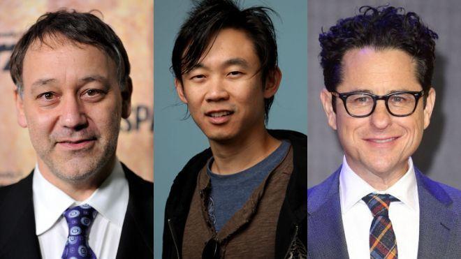 Từ trái sang phải: Sam Raimi James Wan và J.J Abrams, các fan kinh dị hãy nhớ mặt của 3 người đàn ông này.