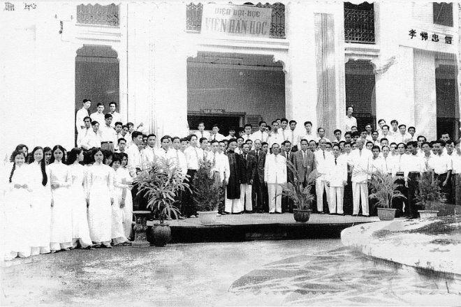 Lễ khai giảng của Viện Đại học Huế năm 1962.
