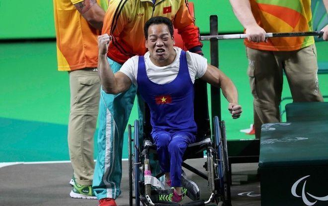 Lê Văn Công phá kỉ lục, giành HCV đầu tiên tại Paralympic Rio 2016 ảnh 5