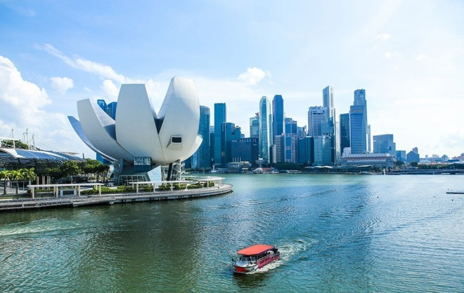 Bảo tàng Khoa học Nghệ thuật tại Singapore.