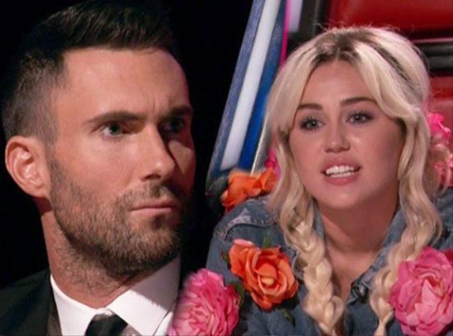 """Đã có tin đồn Adam sợ Miley chiếm mất """"spotlight"""" nên ganh ghét và nói xấu cô."""