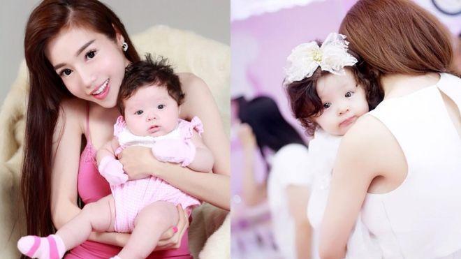 """Nếu nói không quá thì thiên thần Cadie - con gái đầu lòng của Elly Trần chính là một trong những nhóc tì hot nhất showbiz Việt. Mái tóc xoăn tự nhiên, làn da trắng hồng, đôi mắt to tròn… của Cadie khiến hàng nghìn trái tim người hâm mộ """"tan chảy""""."""