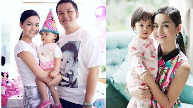 Bé Bella Tuệ Lâm chính là trái ngọt tuyệt vời của vợ chồng Phạm Quỳnh Anh - Quang Huy.