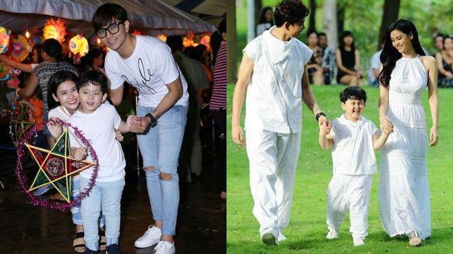 Cả hai vợ chồng Trương Quỳnh Anh - Tim thấy hạnh phúc khi con trai càng lớn, càng ngoan ngoãn. Thậm chí, bé Sushi còn tự tin trình diễn thời trang với bố mẹ.