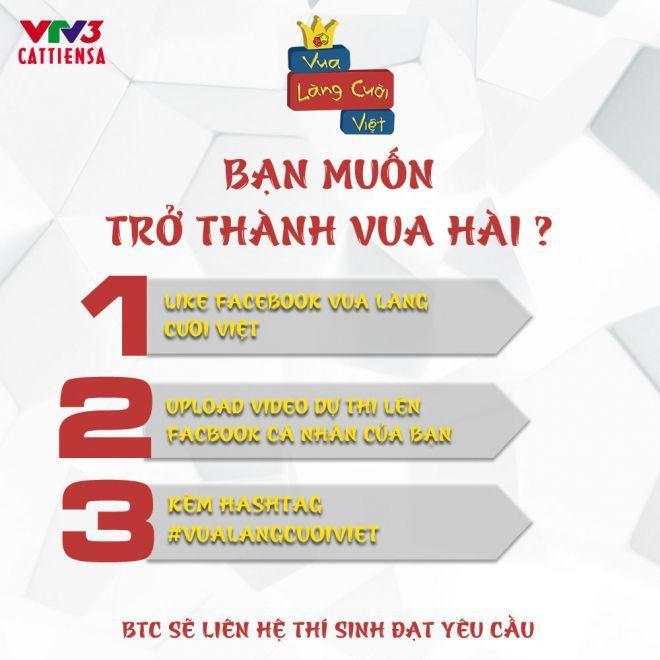 Cách thức trở thành những nhân tố đầu tiên của Vua làng cười Việt.