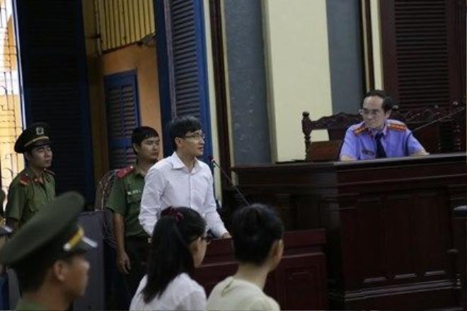 Ông Cao Toàn Mỹ tại phiên tòa xét xử bà Phương Nga. Ảnh: Tân Châu