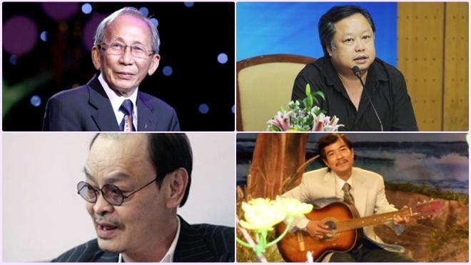 Nhiều nhạc sĩ tên tuổi của nền âm nhạc Việt Nam cũng qua đời trong năm 2016.