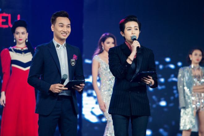 Gil Lê tự tin dẫn Chung kết The Face bên MC kì cựu Thành Trung.