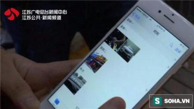 Hình ảnh người lạ trong kho ảnh của chiếc Iphone 7.
