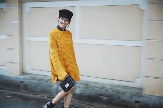 Những gam màu như vàng, đỏ, xanh cũng luôn nằm trong top yêu thích của Quỳnh Chi.