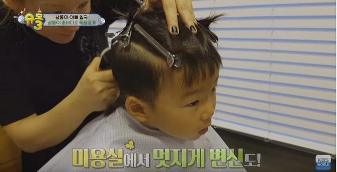 Các bé đã không còn khóc vì sợ mỗi lần vào tiệm cắt tóc nữa.