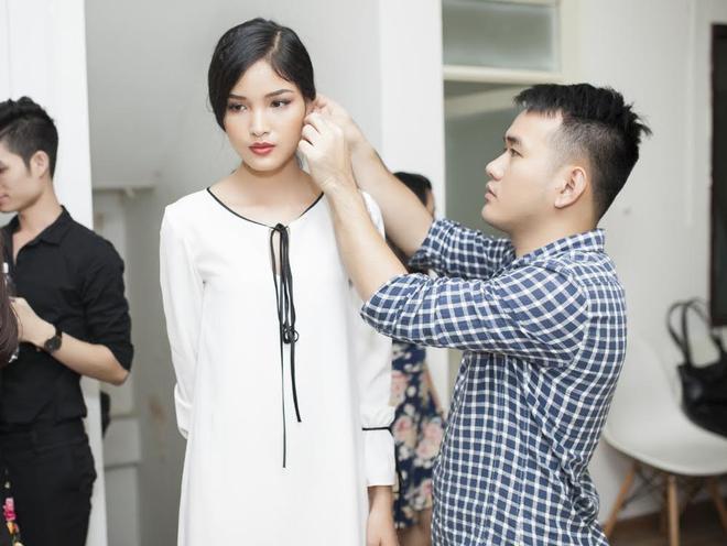 Người mẫu Chà Mi cũng góp mặt trong show diễn lần này.