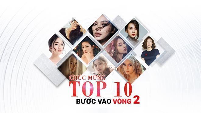 10 cô gái chính thức góp mặt tại vòng 2 The Face Online.