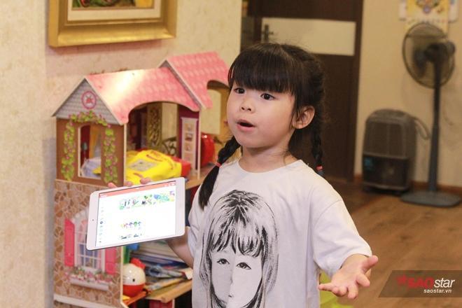 Bé Miu giới thiệu các phần mềm trò chơi mà bé yêu thích.