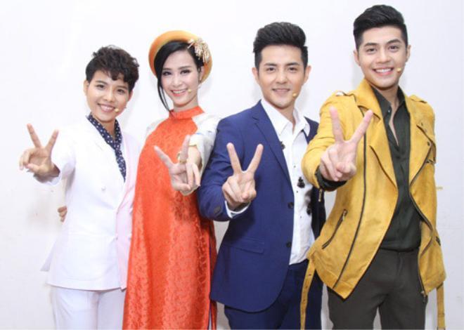 Dàn giám khảo The Voice Kids 2016: Vũ Cát Tường - Đông Nhi-Ông Cao Thắng - Noo Phước Thịnh