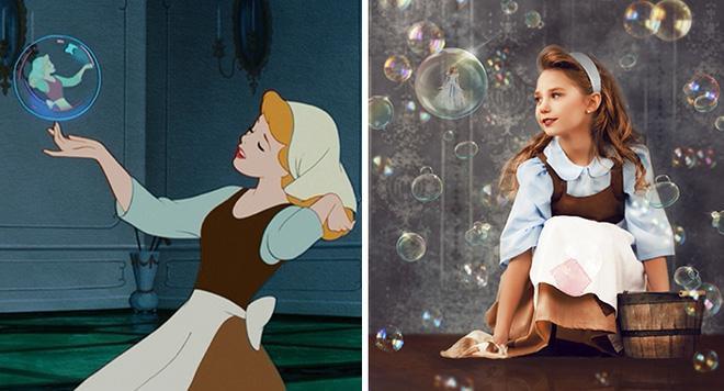 Với kinh nghiệm trong nhiều năm hoạt động nhiếp ảnh, cô cũng muốn truyền tải ý tưởng của mình qua bộ ảnh đến với những người yêu thích Disney.