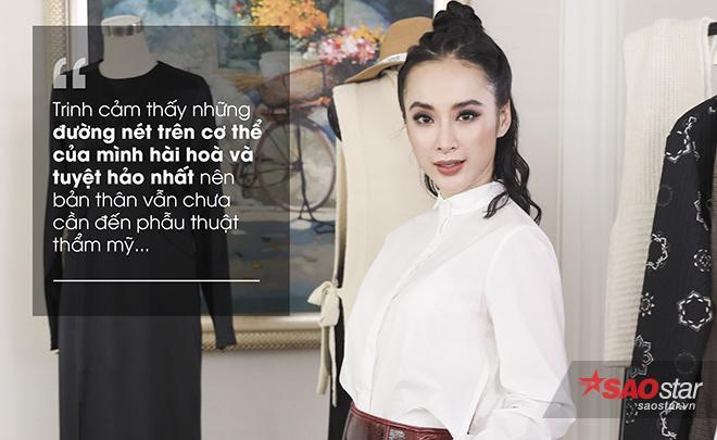 Angela Phương Trinh lần đầu lên tiếng về nghi án bơm môi ảnh 5