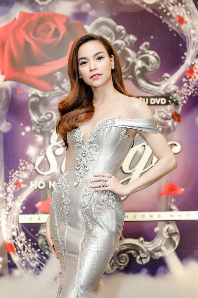 Hà Hồ xuất hiện gợi cảm, xinh đẹp trong buổi giới thiệu DVD Love songs: Cả một trời thương nhớ.
