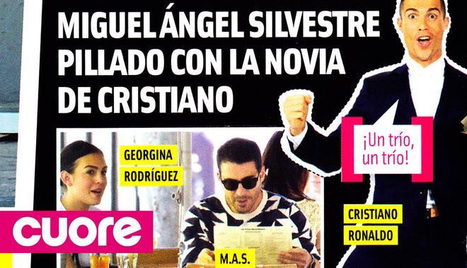 Bạn gái Ronaldo từng hẹn hò với diễn viên Miguel Angel Silvestre?
