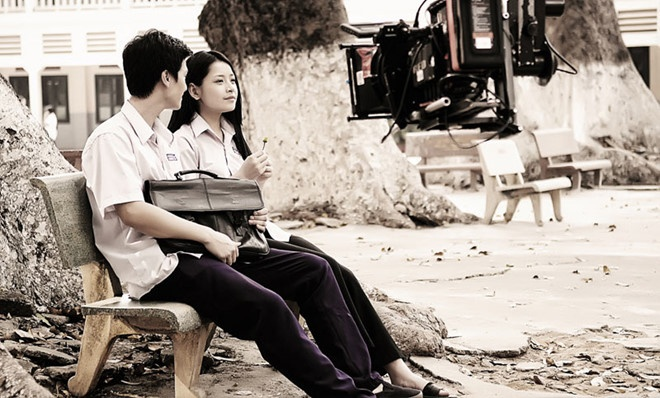 Chi Pu và Huỳnh Anh.