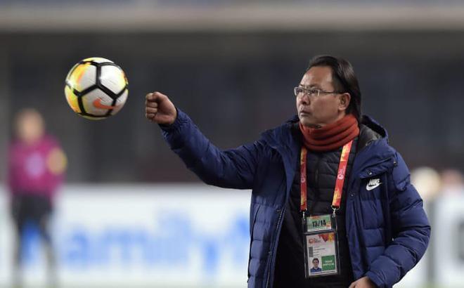 HLV Ong Kim Swee chế U23 Việt Nam.