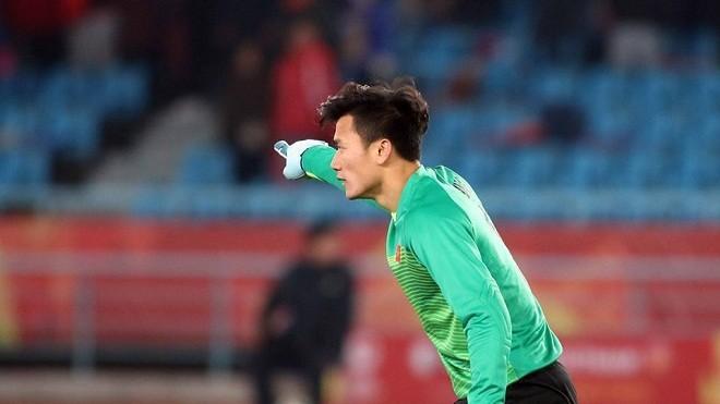 Chàng thủ môn quốc dân Bùi Tiến Dũng.