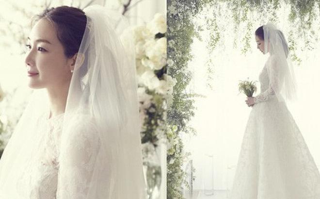 """Nhưng mãi đến 29/03, mới thực sự là ngày Choi Ji Woo trở thành cô dâu mới trong """"bộ phim cuộc đời"""" của chính mình."""