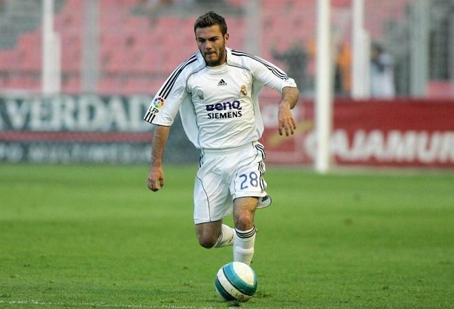 Juan Mata trong màu áo Real nhưng anh không có cơ hội thể hiện nhiều.