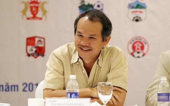 Bầu Đức - một ông bầu đặc biệt của bóng đá Việt Nam.