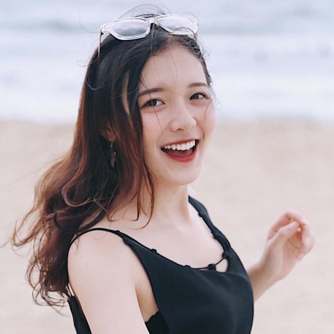 Nụ cười dễ mến là thế mạnh của Thảo.