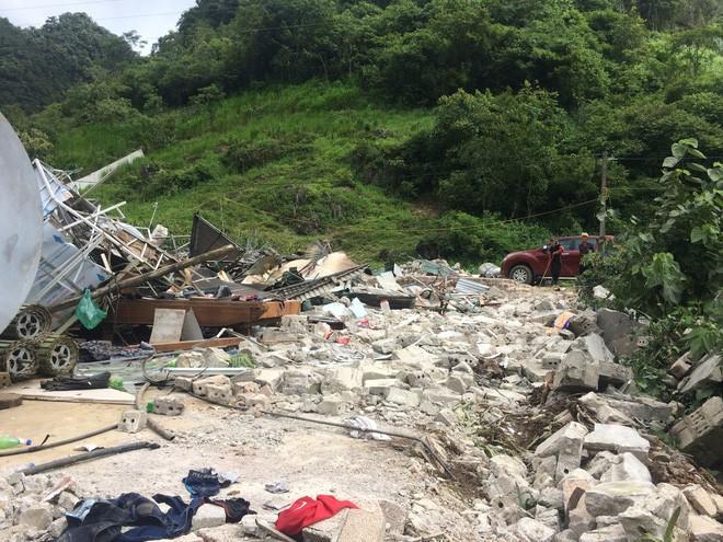 Còn căn nhà của Nguyễn Thanh Tuân đã bị san phẳng. Ảnh: Hoàng An.