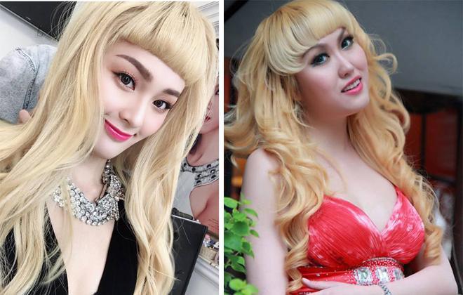Hình ảnh có nhiều điểm giống nhau của Phi Thanh Vân và Hạ Vi