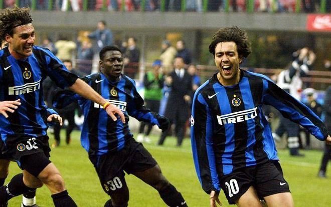 Sự nghiệp Recoba gắn với một thời kỳ đen tối trong lịch sử CLB Inter Milan. Ảnh: FC Inter.