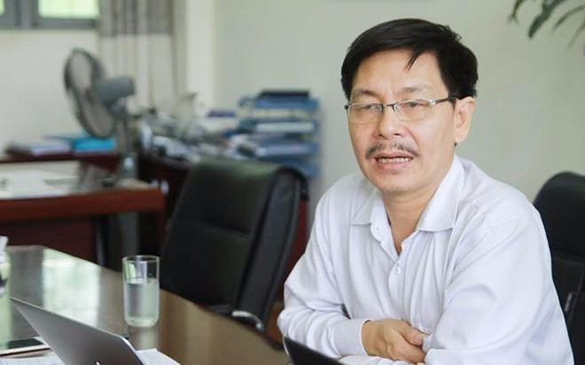 PGS Trần Văn Tớp – Phó hiệu trưởng ĐH Bách khoa Hà Nội. Ảnh:Tiến Tuấn