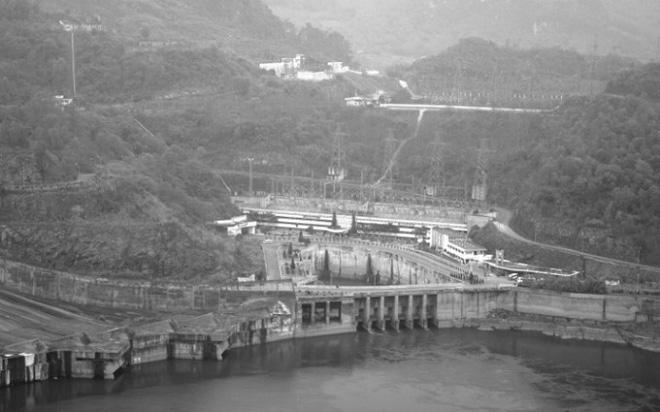 Thủy điện Hòa Bình. Ảnh tư liệu