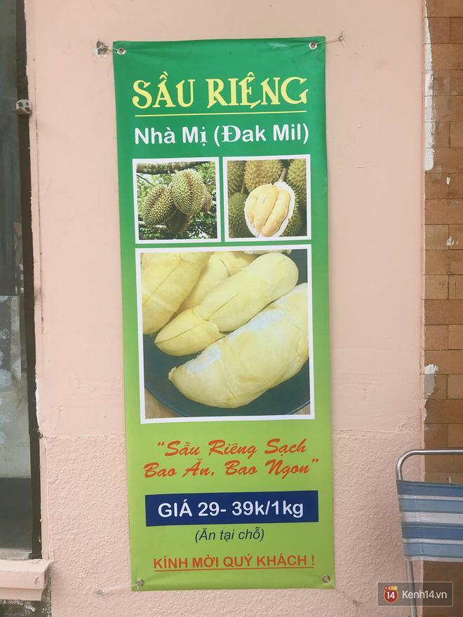 Mốt ăn sầu riêng hot nhất hiện nay: ăn xong trả hạt và đây là những địa chỉ hiếm hoi ở Sài Gòn dành cho bạn ảnh 0