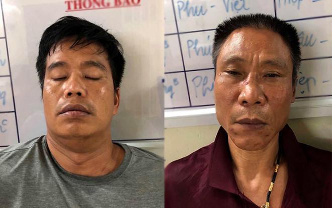 Nguyễn Tuấn Anh (trái) và Trần Tuấn Hùng. Ảnh: Zing.vn