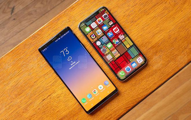 Đọ hiệu năng Samsung Galaxy Note9 và iPhone X: Người tám lạng, kẻ nửa cân ảnh 0