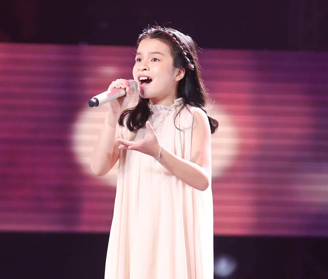 Hồng Thư Giọng hát Việt nhí 2017