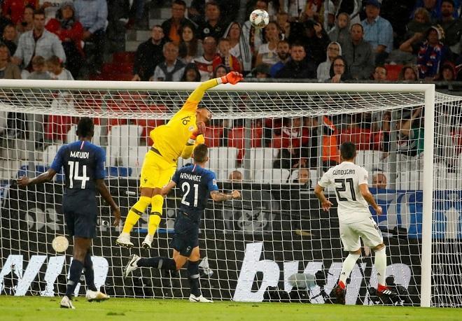 Areola vừa thi đấu xuất sắc dưới màu áo ĐT Pháp. Ảnh: UEFA.