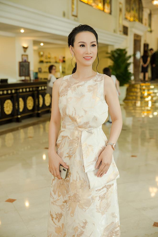 Hoa hậu Paris Vũ luôn nổi tiếng với phong cách thanh lịch và trang nhã