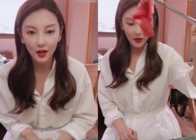 Mới đây, Trương Vũ Kỳ xuất hiện trong một chương trình và bị nghi vấn phẫu thuật thẫm mỹ, khi đó trông cô gầy gò, mặt nhọn bất thường.